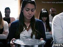 Corrupt bishop manipulates 18 year old girl into sex with him alina lopez - full scene on freetaboo net